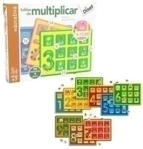 De 63730 Juguetes Stem Diset Tablas Multiplicar N80nyvwOmP